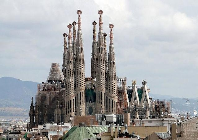 Sagrada Familia v Barcelone bude dokončená do roku 2026