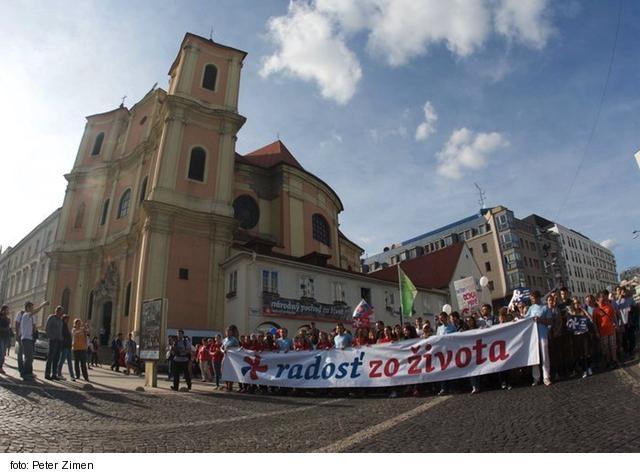 Organizátori Národného pochodu za život chcú hovoriť s politikmi