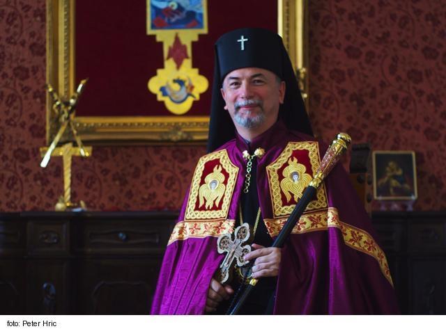 Arcibiskup Cyril Vasiľ sa stal správcom Košickej eparchie
