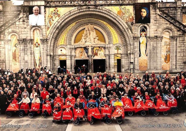 Maltézska pomoc sa s chorými zúčastnila na púti do Lúrd