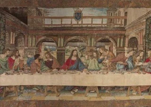 Vo Vatikáne zreštaurovali gobelín s Poslednou večerou