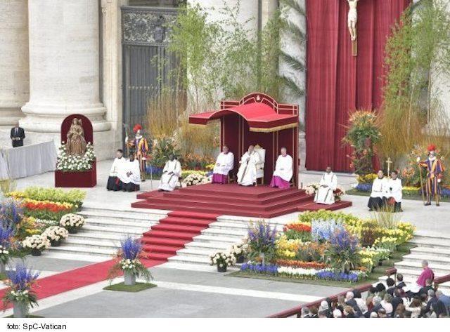 Liturgické slávenia Svätého Otca na pôst a Veľkú Noc