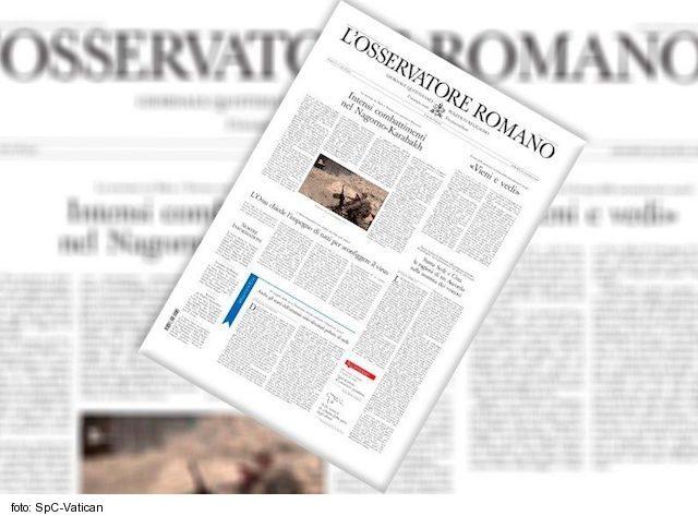 Nedeľná edícia vatikánskeho denníka je prístupná online