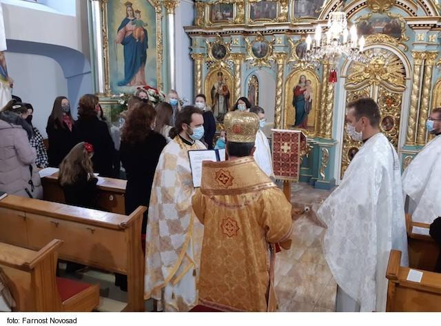 V Novosade oslávili sviatok svojho patróna svätého Juraja