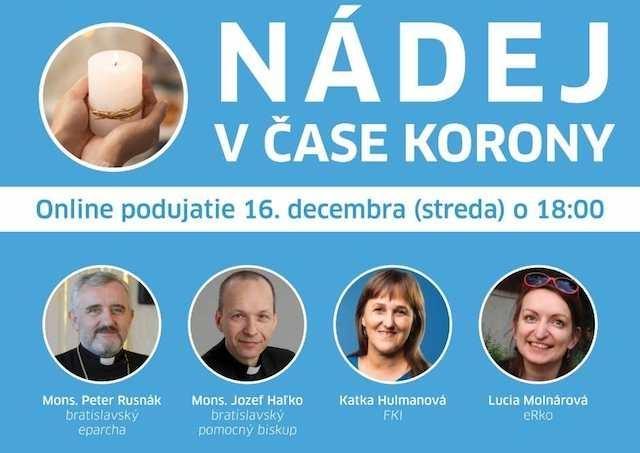 Rada KBS Iustitia et Pax pozýva na online večer o nádeji