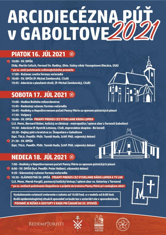 Z Gaboltova odvysielame cez víkend dva priame prenosy