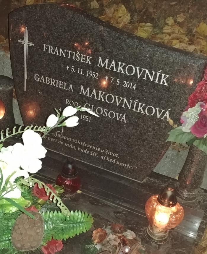 Spomíname na zosnulých: František Makovník