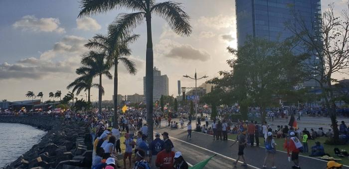 Priame prenosy zo Svetových dní mládeže v Paname