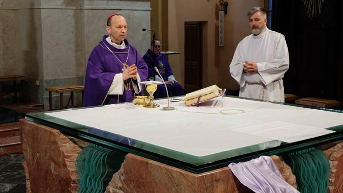 Biskup Jozef Haľko si pripomenul 25 rokov kňazskej vysviacky