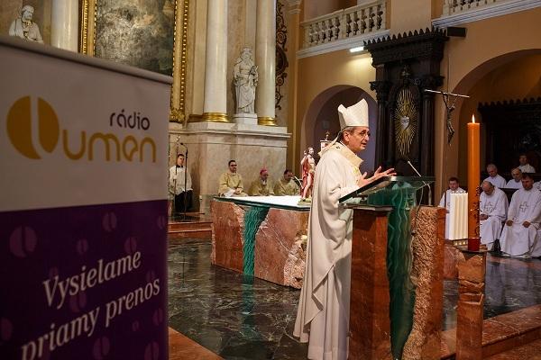 Arcibiskup Zvolenský: Rádio LUMEN je veľkonočné rádio