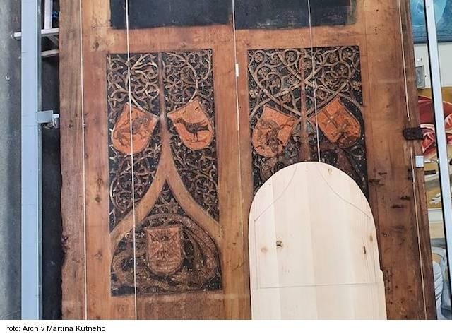 Zreštaurovanú gotickú bránu z konca 15. storočia umiestnili do Baziliky svätého Egídia v Bardejove