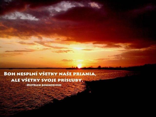 Soňa Behúňová: Modlím sa a ďakujem