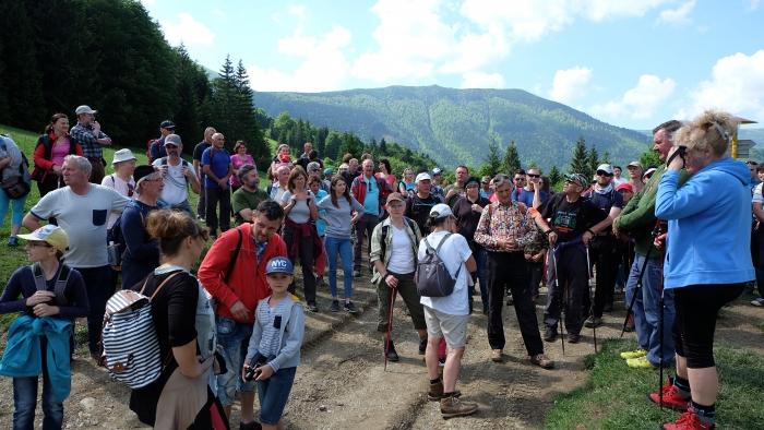 Lumentúra v Terchovej otvorila turistickú sezónu Rádia LUMEN.