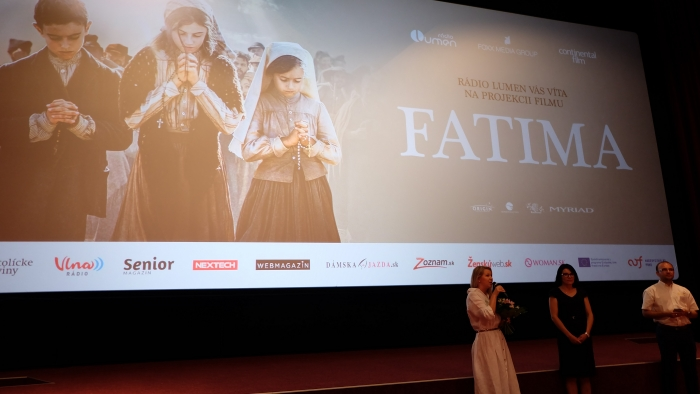 Premiéra filmu FATIMA bola svetová