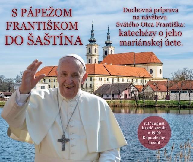 Biskup Jozef Haľko predniesol druhý príhovor o mariánskej úcte pápeža Františka