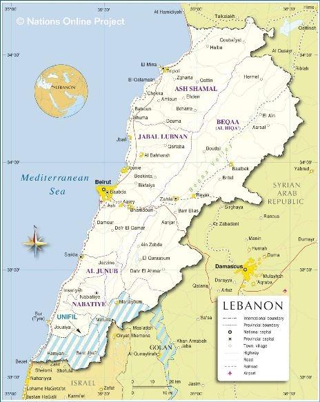 Spoločenský komentár: Libanon
