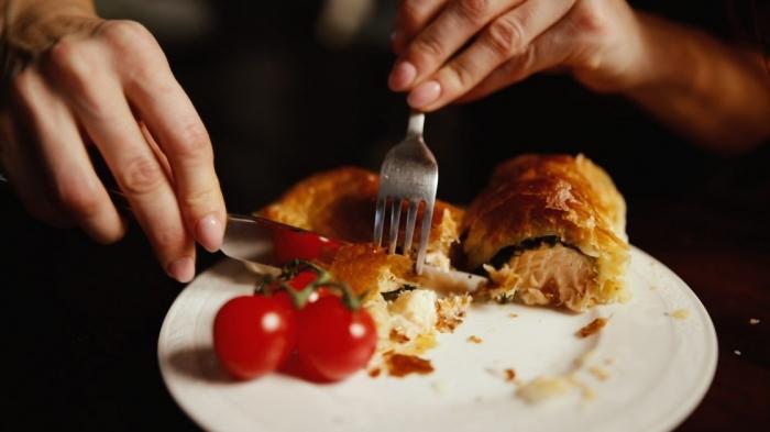Na skok do kuchyne s Naty: Pečený losos v lístkovom ceste