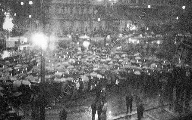 Tridsiate prvé výročie Sviečkovej manifestácie