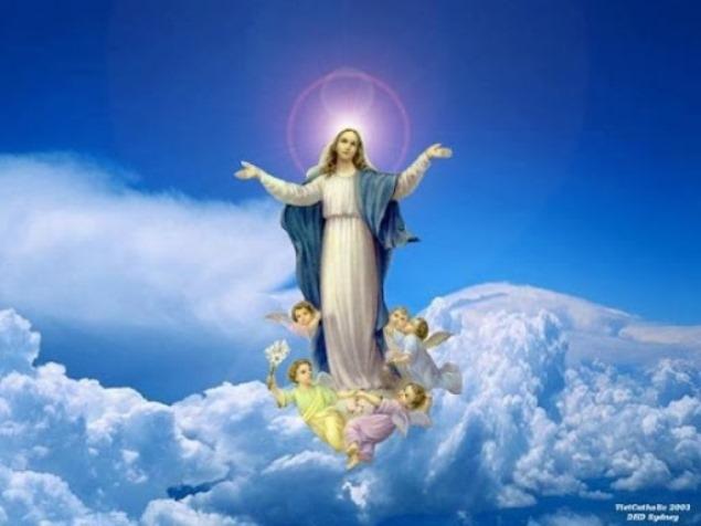 Nanebovzatie preblahoslavenej Panny Márie