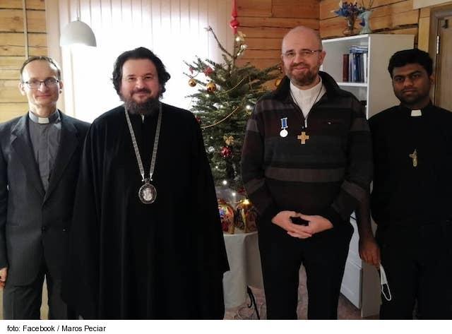 Saleziáni dostali medailu od moskovského patriarchu