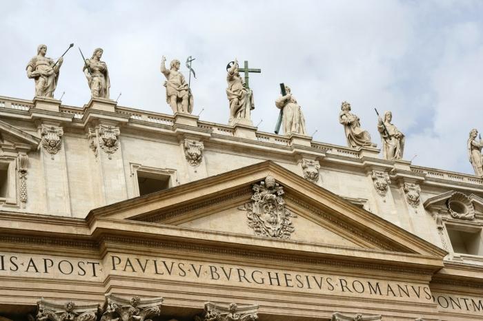 Usmerňujúca nóta arcikňaza svätopeterskej baziliky