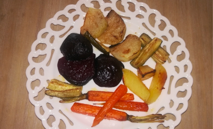 Na skok do kuchyne (8): CHOLESTEROL_Pečená zelenina