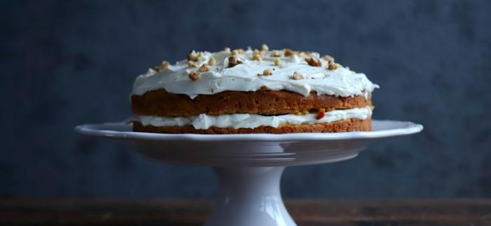 Na skok do kuchyne s Naty: Mrkvová torta