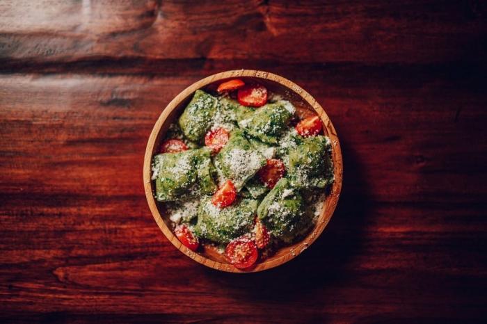 Na skok do kuchyne s Naty: Špenátové ravioly s plnkou