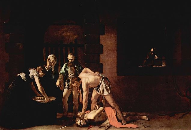Mučenícka smrť svätého Jána Krstiteľa