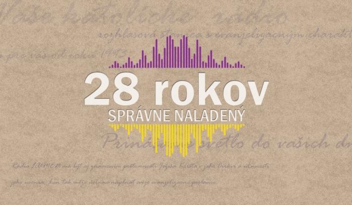 Rádio LUMEN vysiela už 28 rokov!
