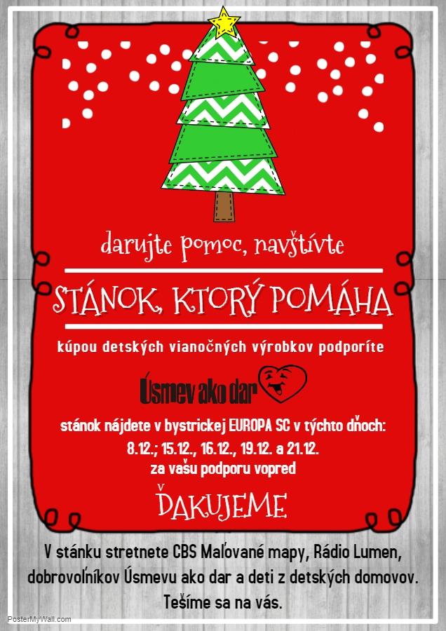 d1b230a5a874 Pomôžte na Vianoce spolu s nami deťom z detských domovov