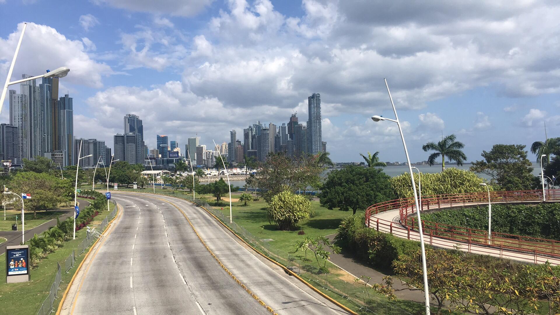 Hlavné mesto Panama City
