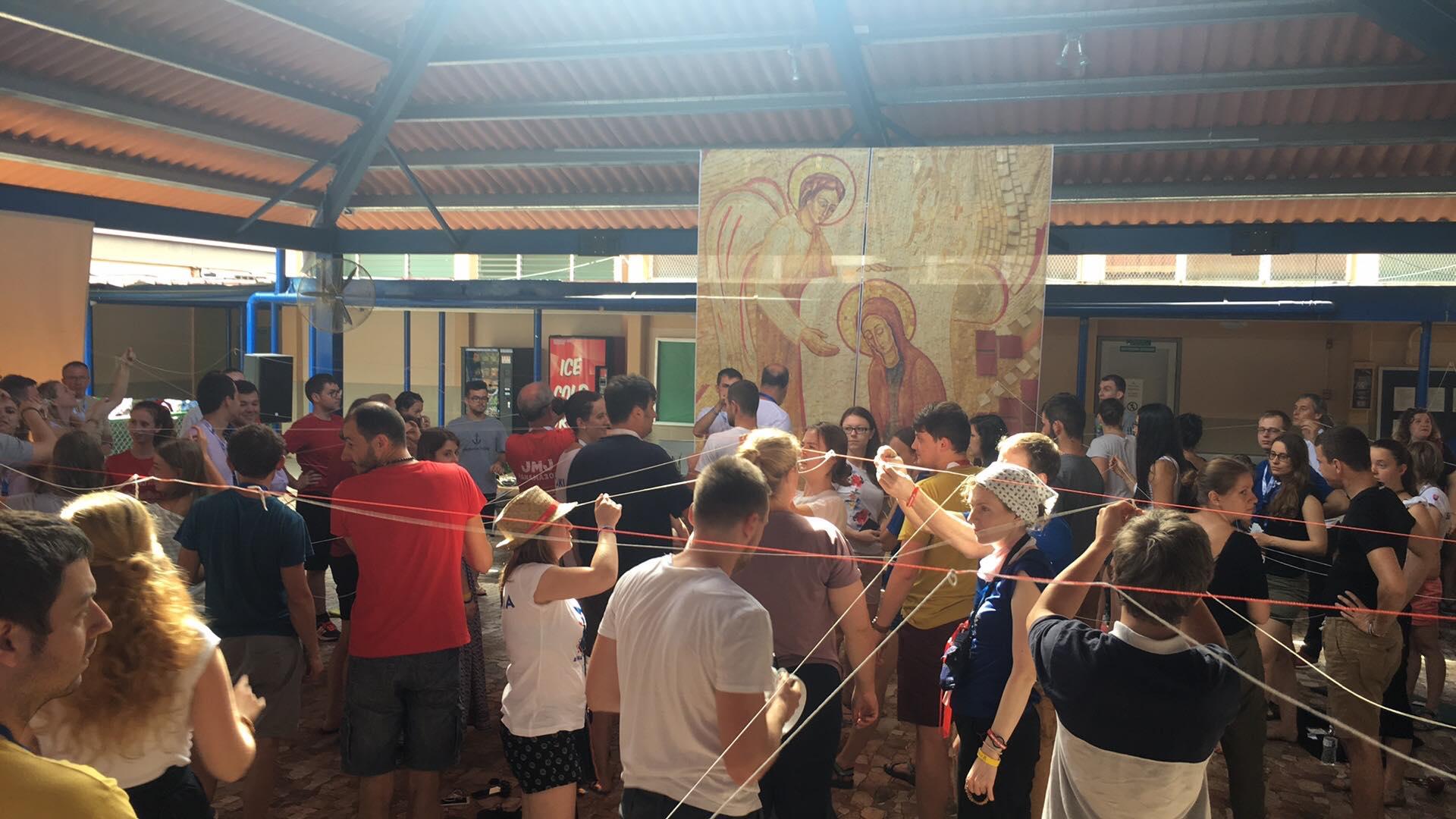 Program mladých Panamčanov pre slovenských pútnikov