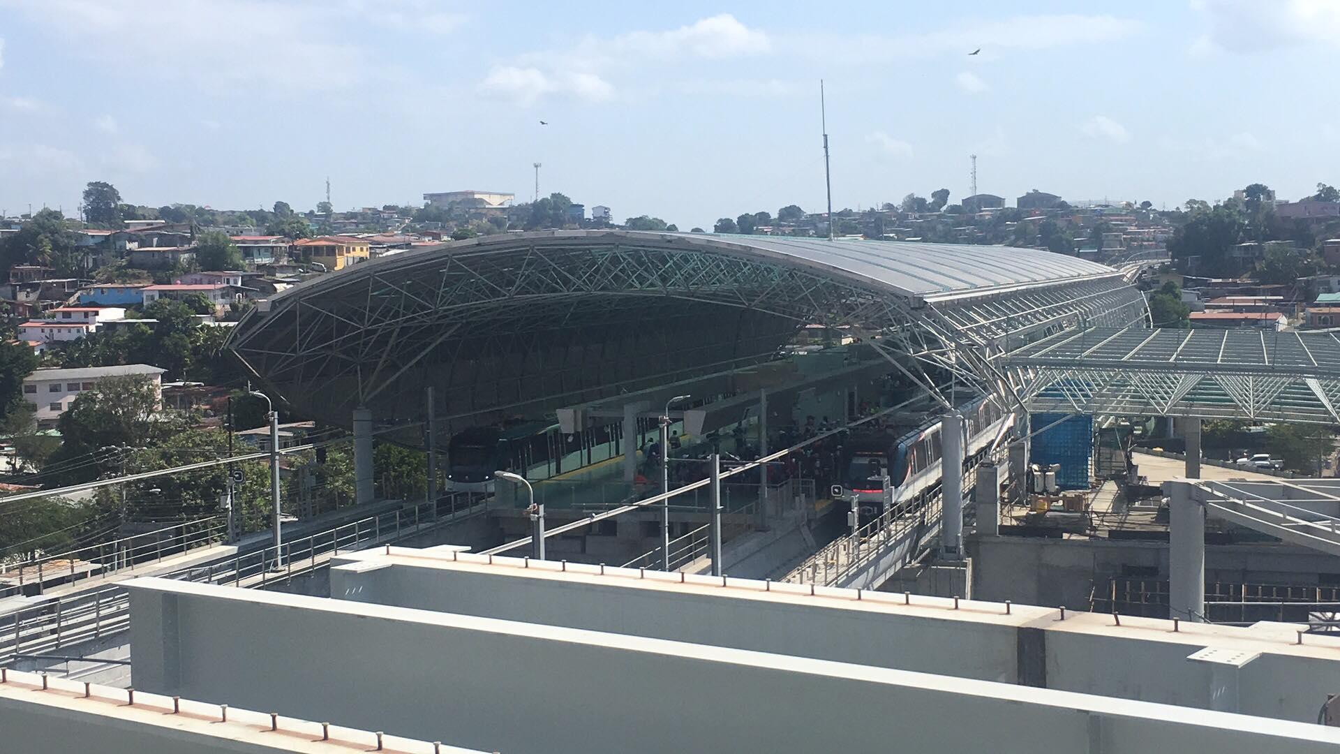 Nová linka metra v Panamy City otvorená len pár dní pred SDM