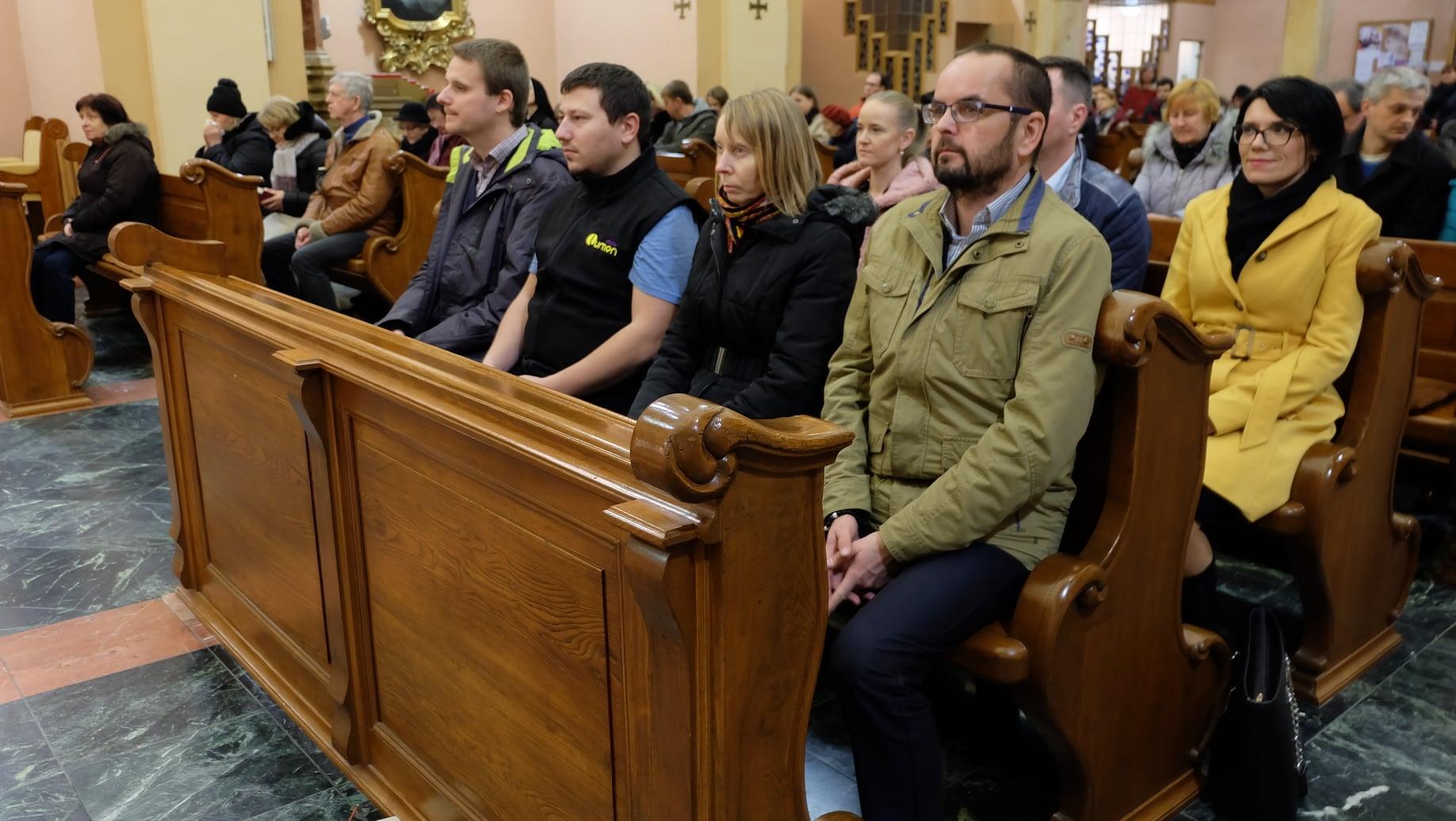 S tímom Rádia LUMEN na predvianočnej rozhlasovej obnove v Katedrále sv. Františka Xaverského v Banskej Bystrici