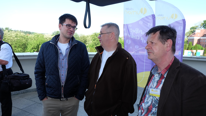 Spolu s kolegami v Krakove na púti Rádia Lumen