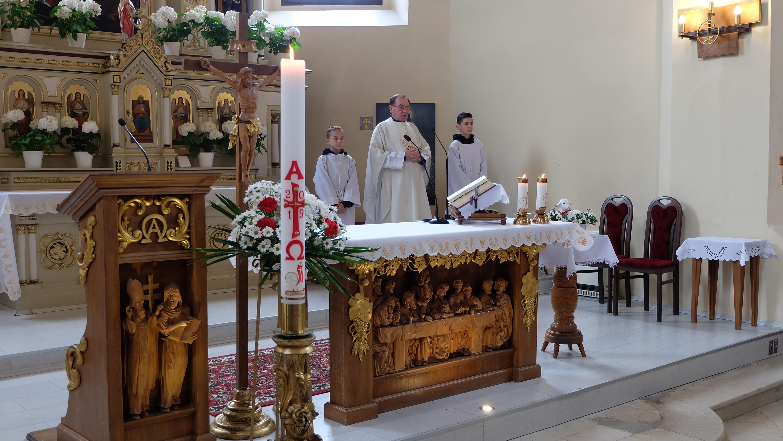 Sv. omša v kostole sv. Michala Archanjela v Starej Bystrici