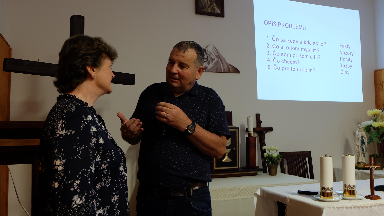 O láske medzi manželmi hovorili manželia Emil a Anna Kondelovci