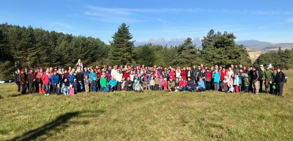 Približne 160 účastníkov našej Lumentúry v Slovenskom raji