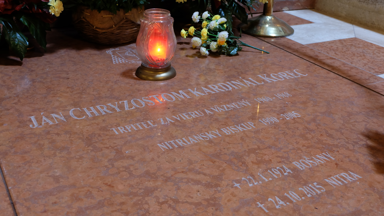 Kardinála Korca si môžu uctiť veriaci v Katedrále sv. Emeráma v Nitre