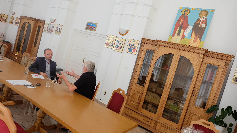 Priestory eparchiálneho úradu v Bratislave