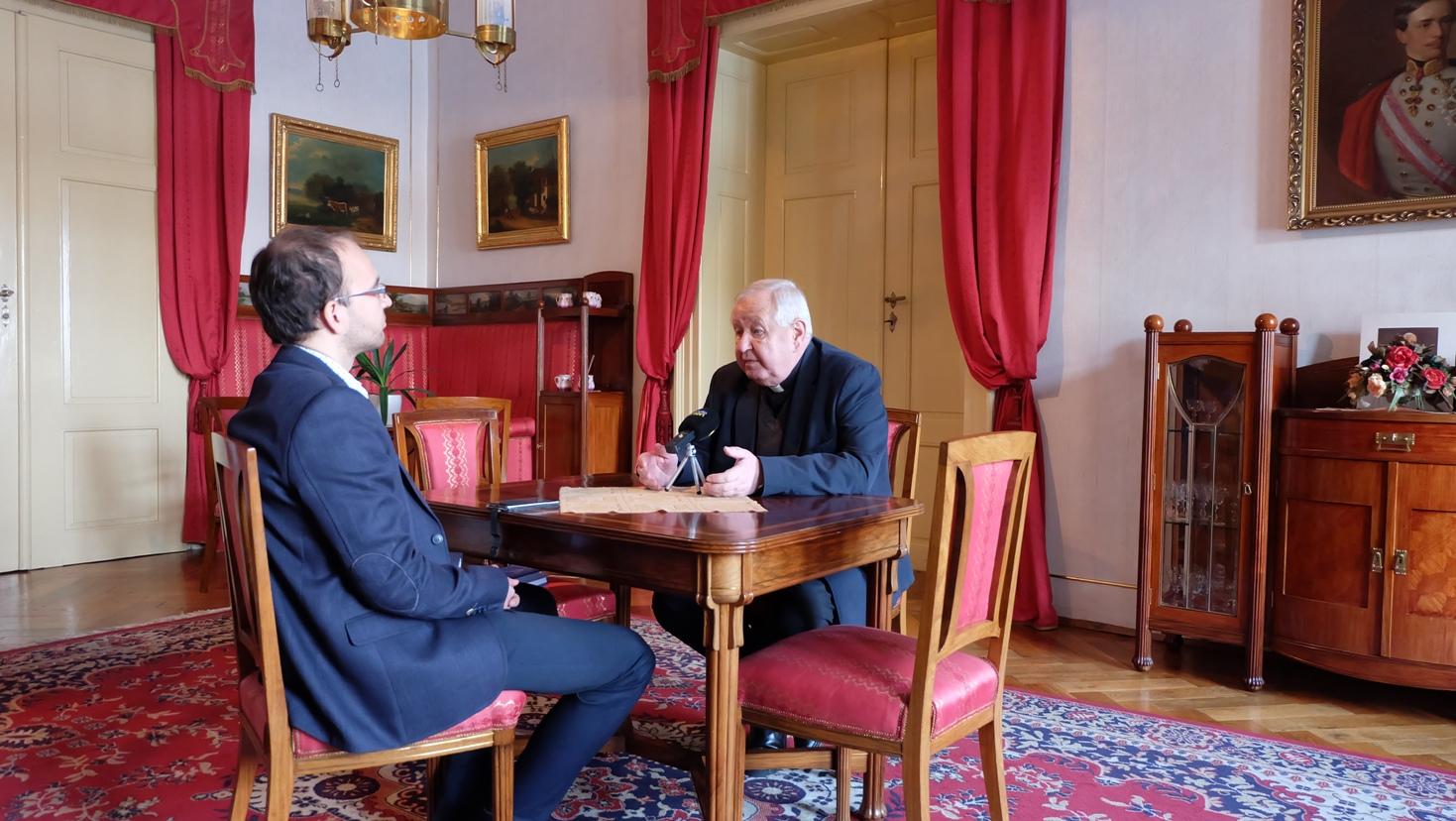 Rozhovor na biskupskom úrade v Spišskej Kapitule