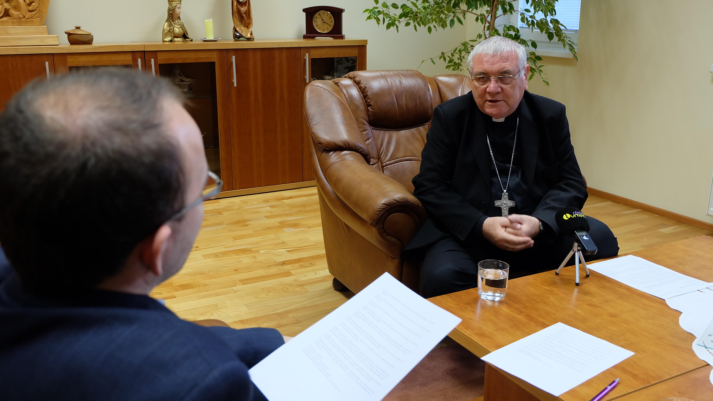 Rozhovor na biskupskom úrade v Žiline