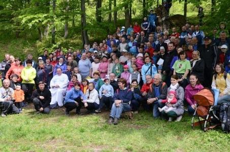 Poslucháči Rádia LUMEN absolvovali opäť lumentúru, tentoraz do osady Podšíp